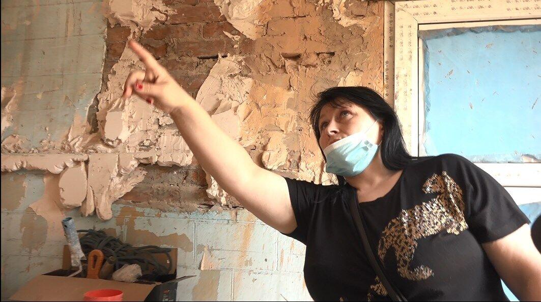 """Що робити з """"відремонтованим"""" будинком, як тут жити і чи безпечно там взагалі перебувати, ні Аліна, ні члени її родини не мають жодного уявлення"""