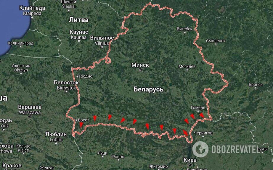 Ще одна загроза – з боку Білорусі