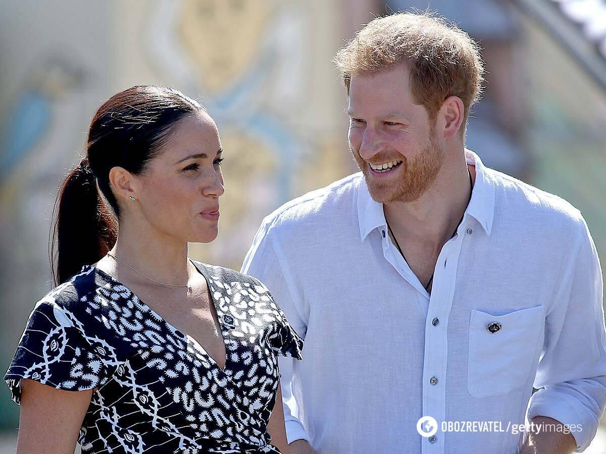 Принц Гаррі з дружиною