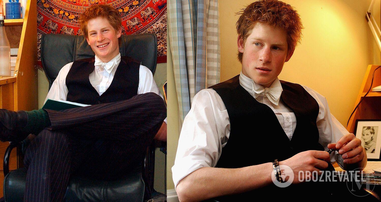 Принц Гаррі в юності