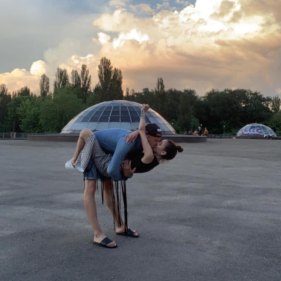Клименко с возлюбленным