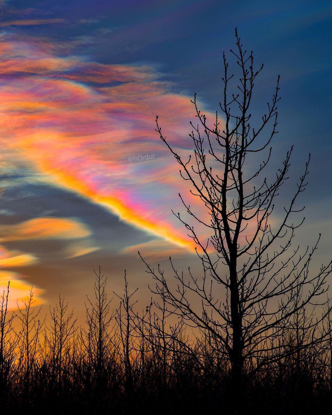 """""""Перламутрові хмари"""" з'являються тільки в арктичних регіонах"""