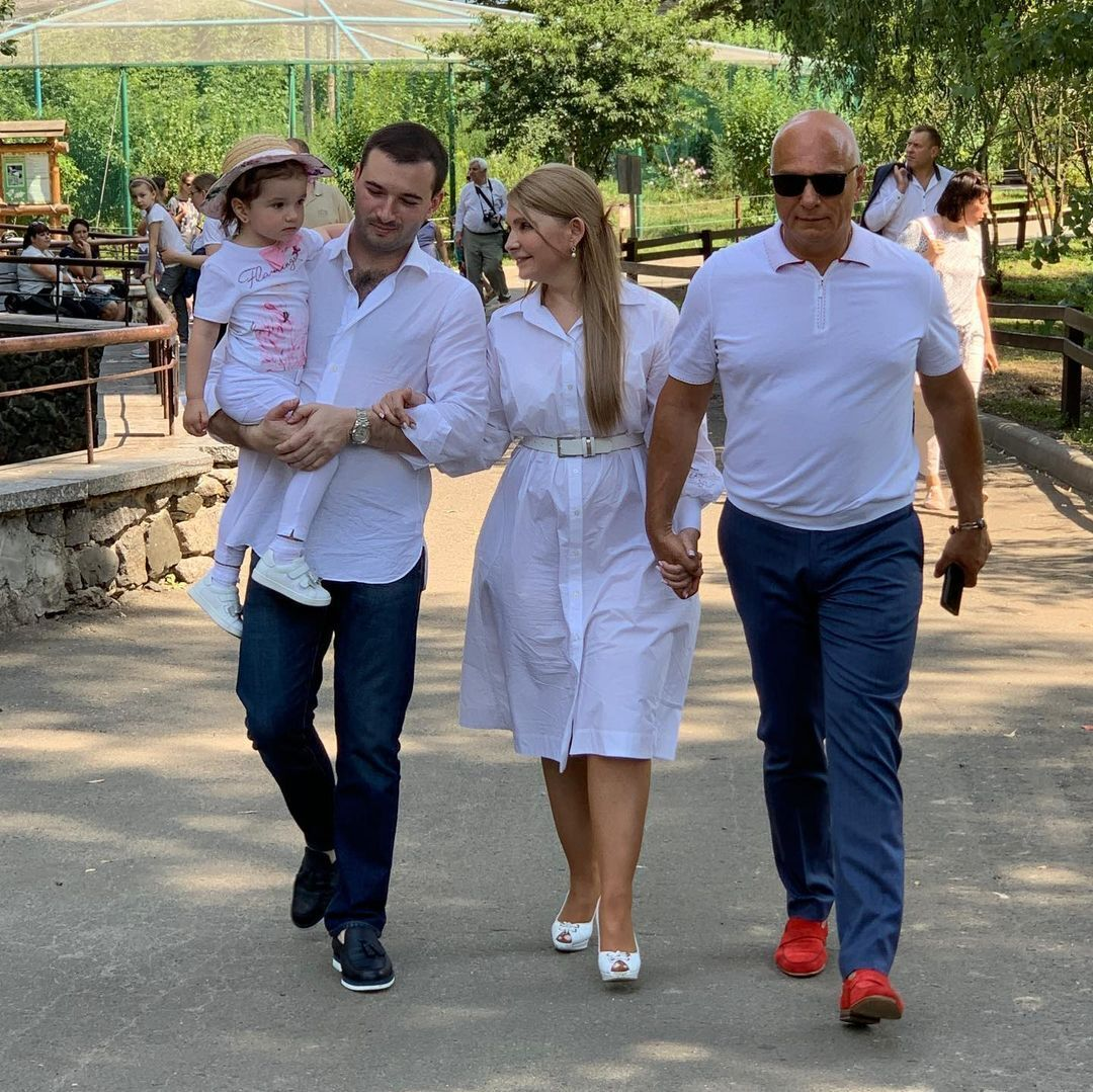 Тимошенко показала внучку Еву