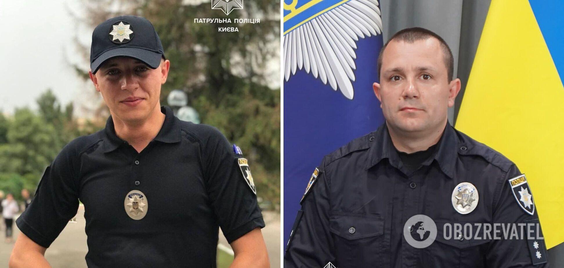 Патрульные Андрей Валуев и Дмитрий Руммо.