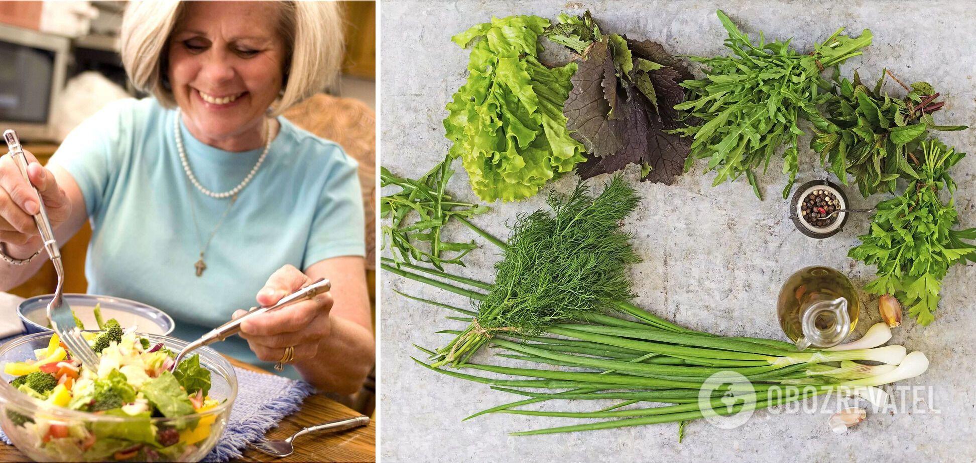 Зелені листові овочі допомагають покращити функції мозку