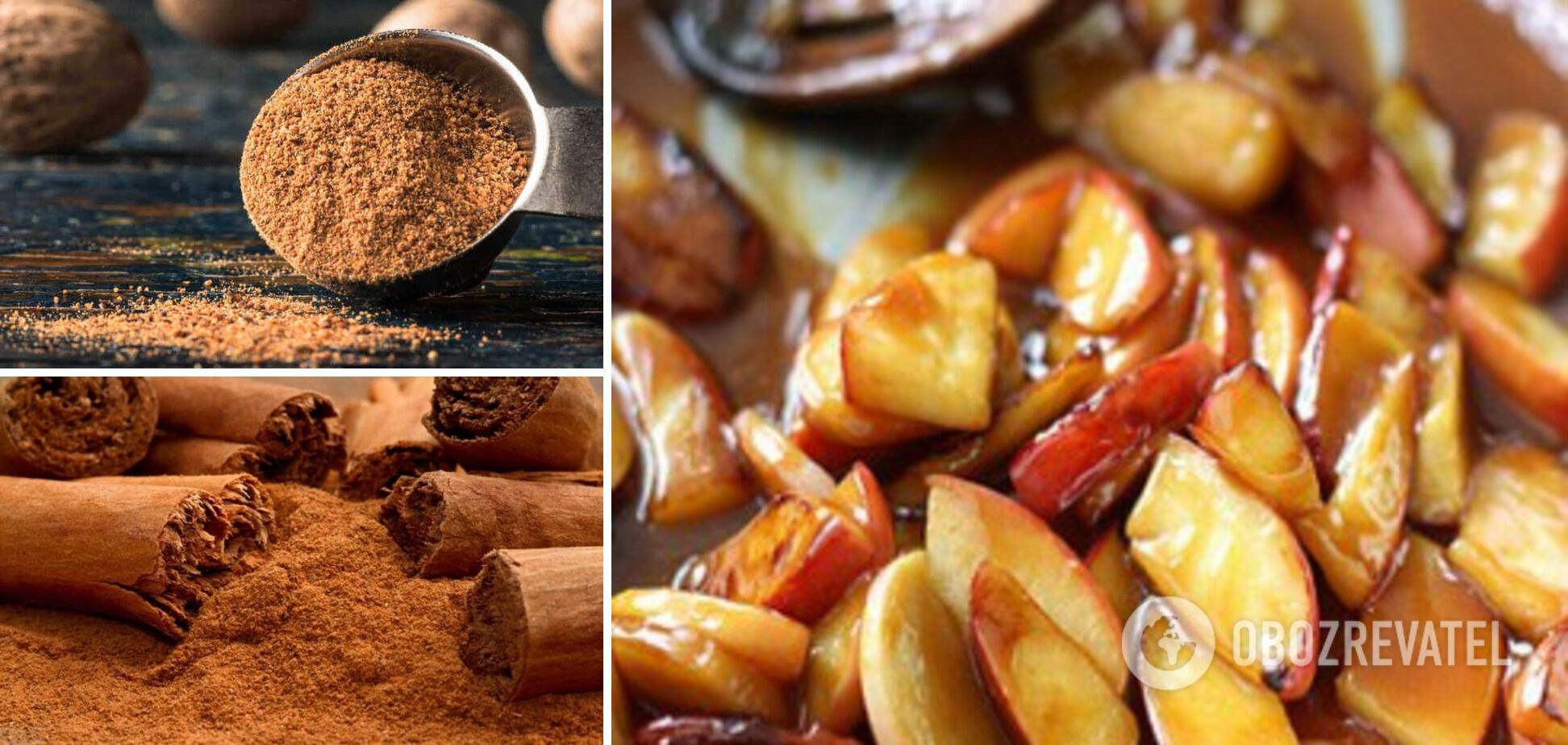 Продукти, які зроблять довершеним смак шарлотки, – спеції та карамелізовані яблука