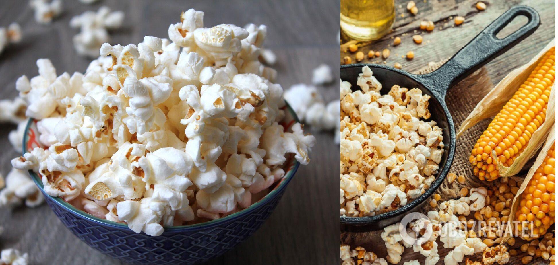Кукурудза, яка ідеально підходить для домашнього попкорну