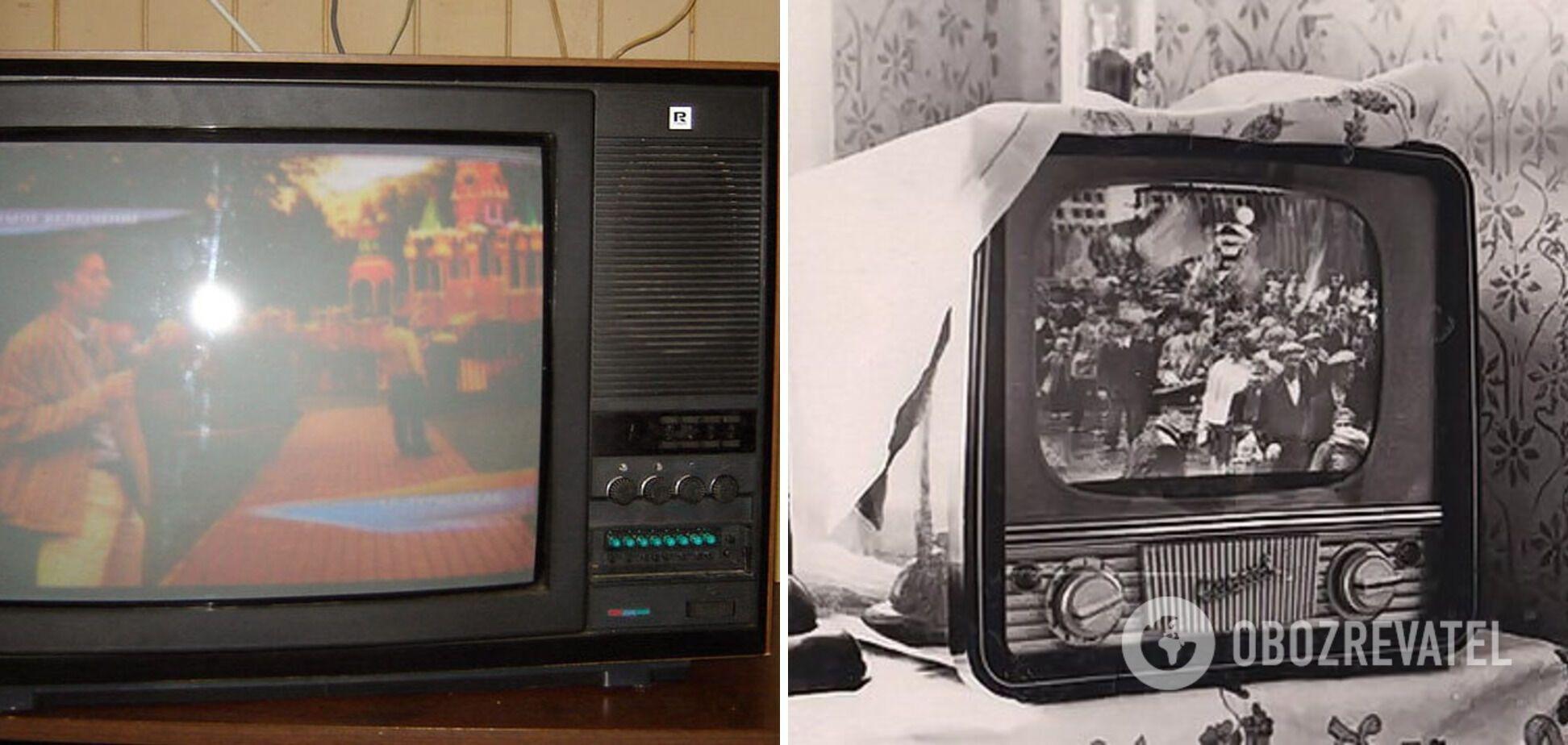 Коллекционеры собирают раритетные телевизоры времен СССР.
