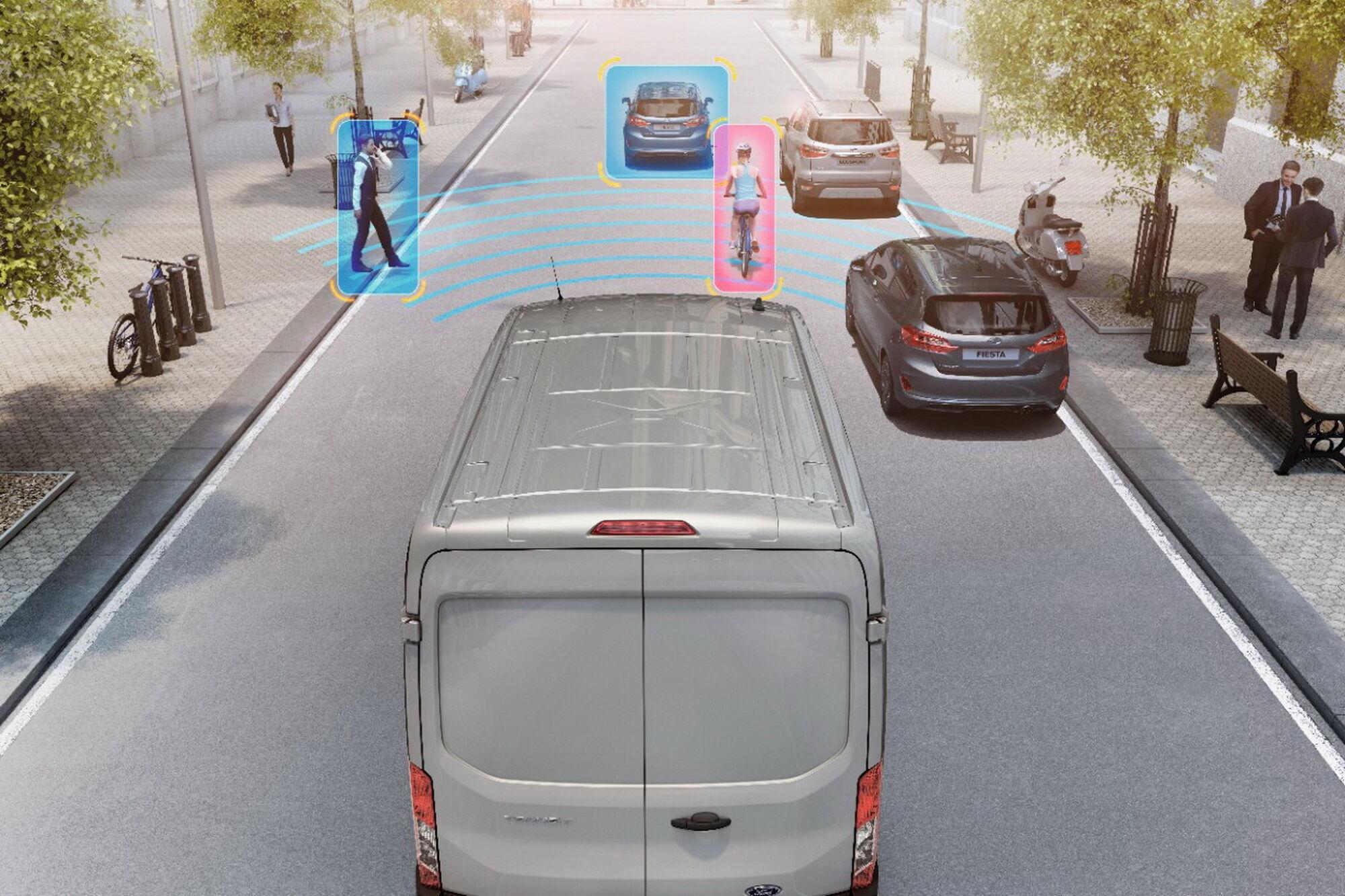 Ford получит систему обнаружения прохожих – Pedestrian Detection