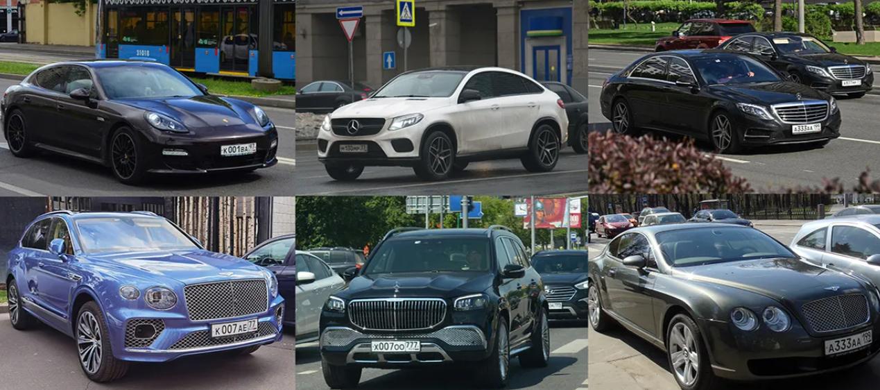 Авто, что принадлежат Поляковой и ее семье