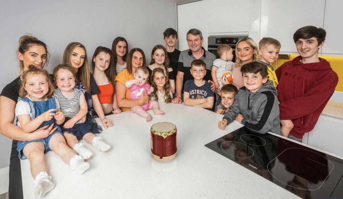 Найбільша родина у Великій Британії