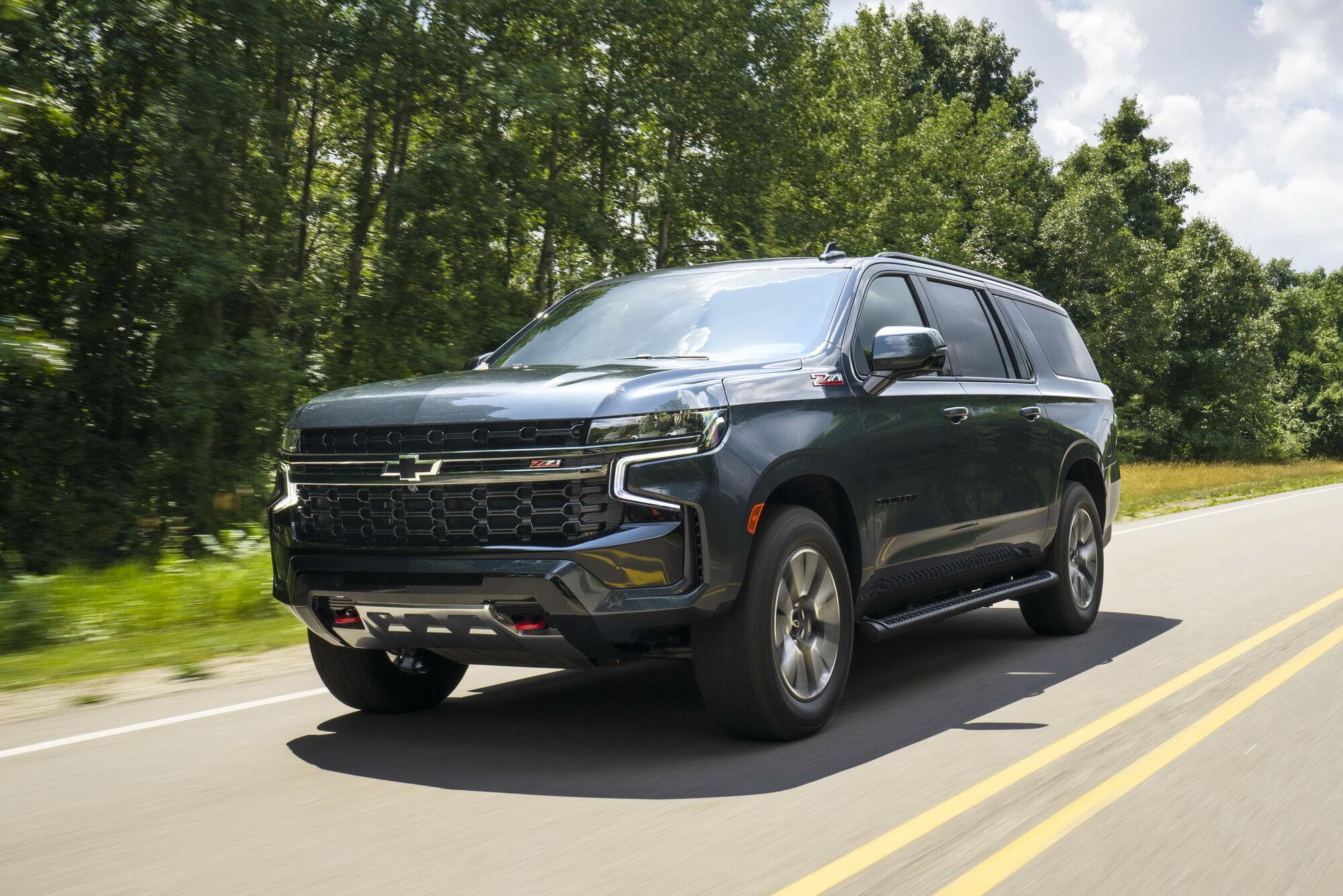 Chevrolet Suburban последнего поколения
