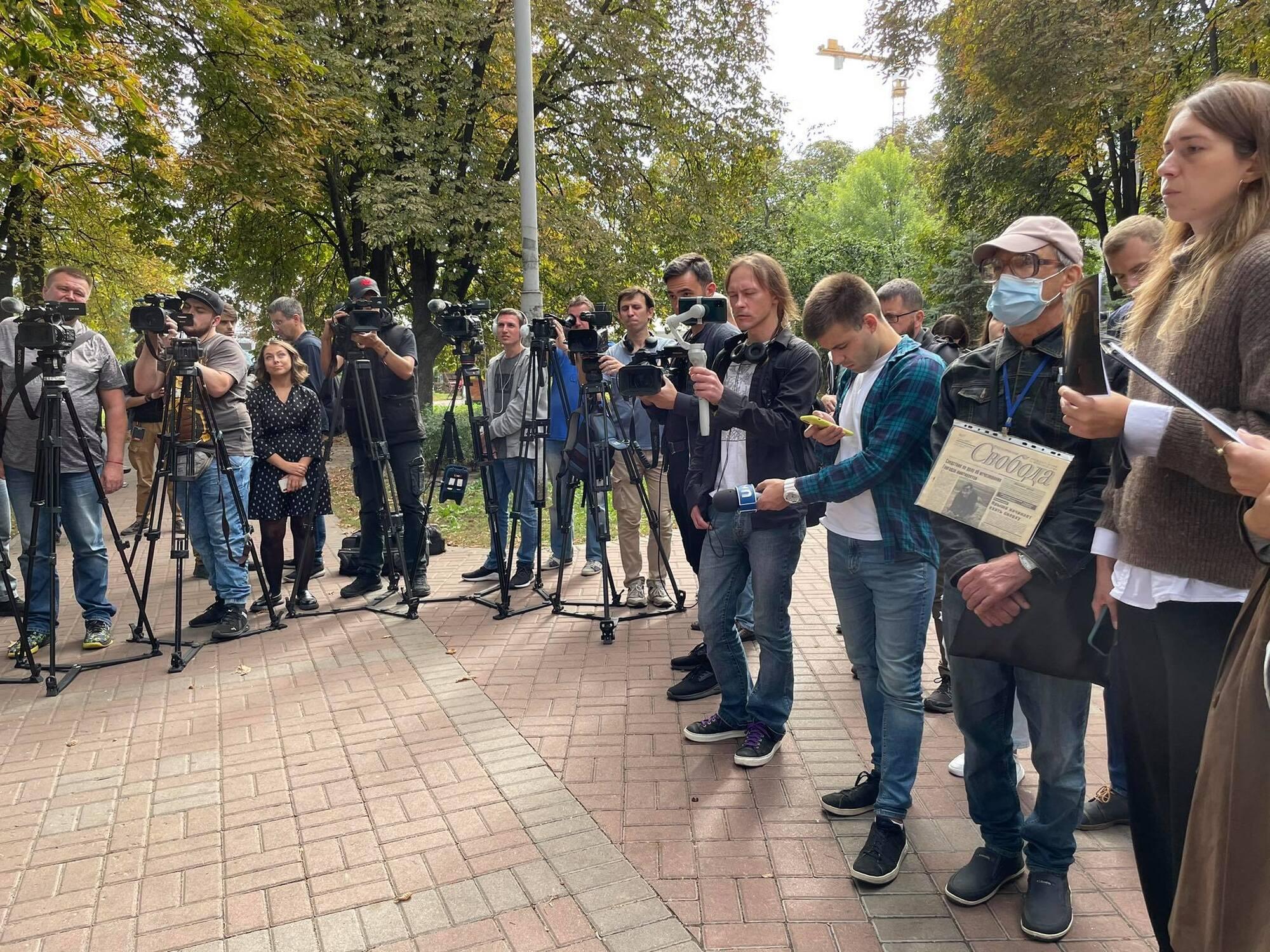Журналисты и правозащитники почтили память Георгия Гонгадзе.