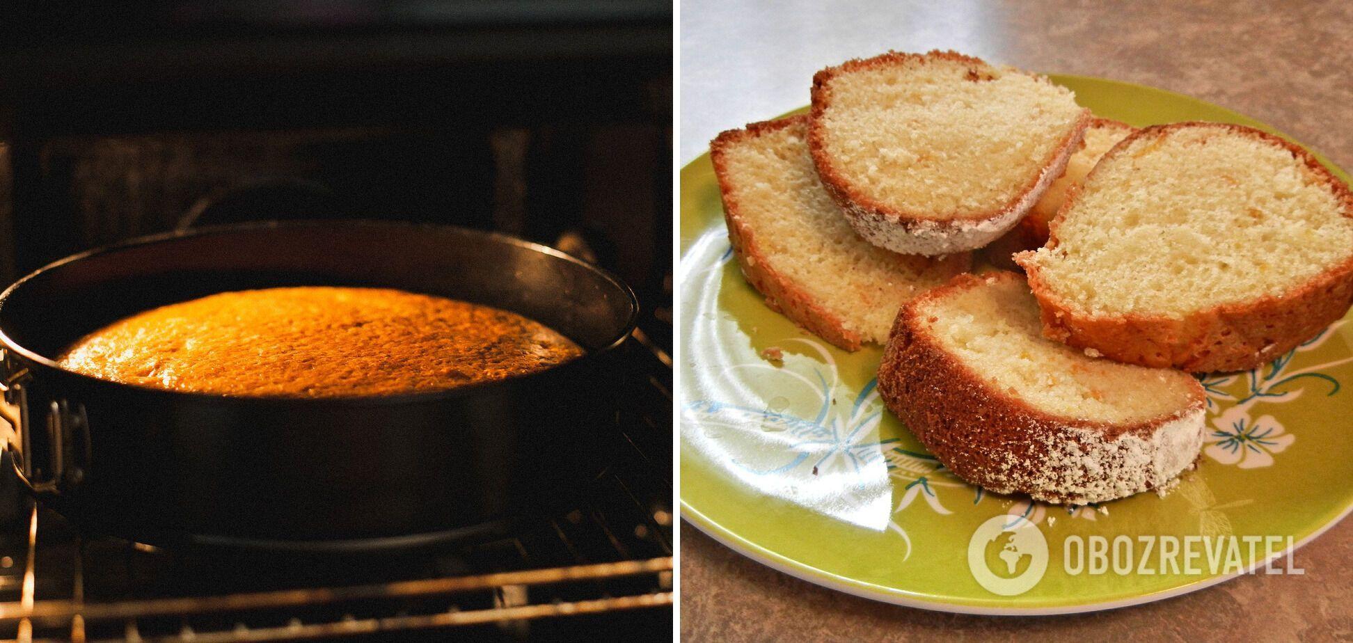 Как испечь идеальный бисквит