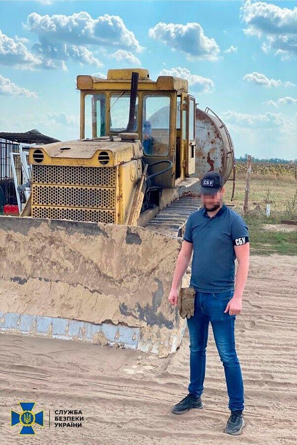 СБУ на Київщині заблокувала схему незаконного видобутку піску