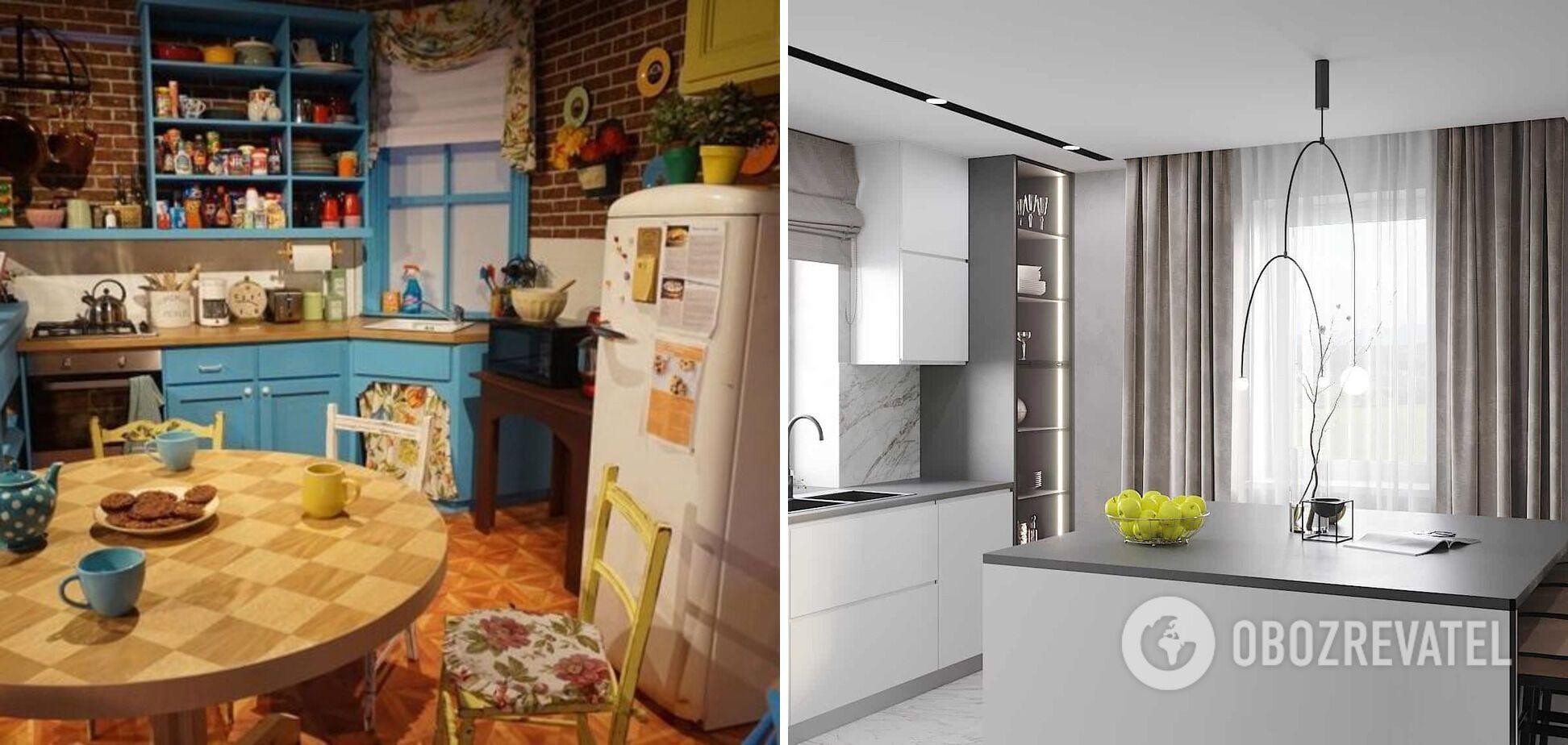 Лаконичная кухня и кухня с декором