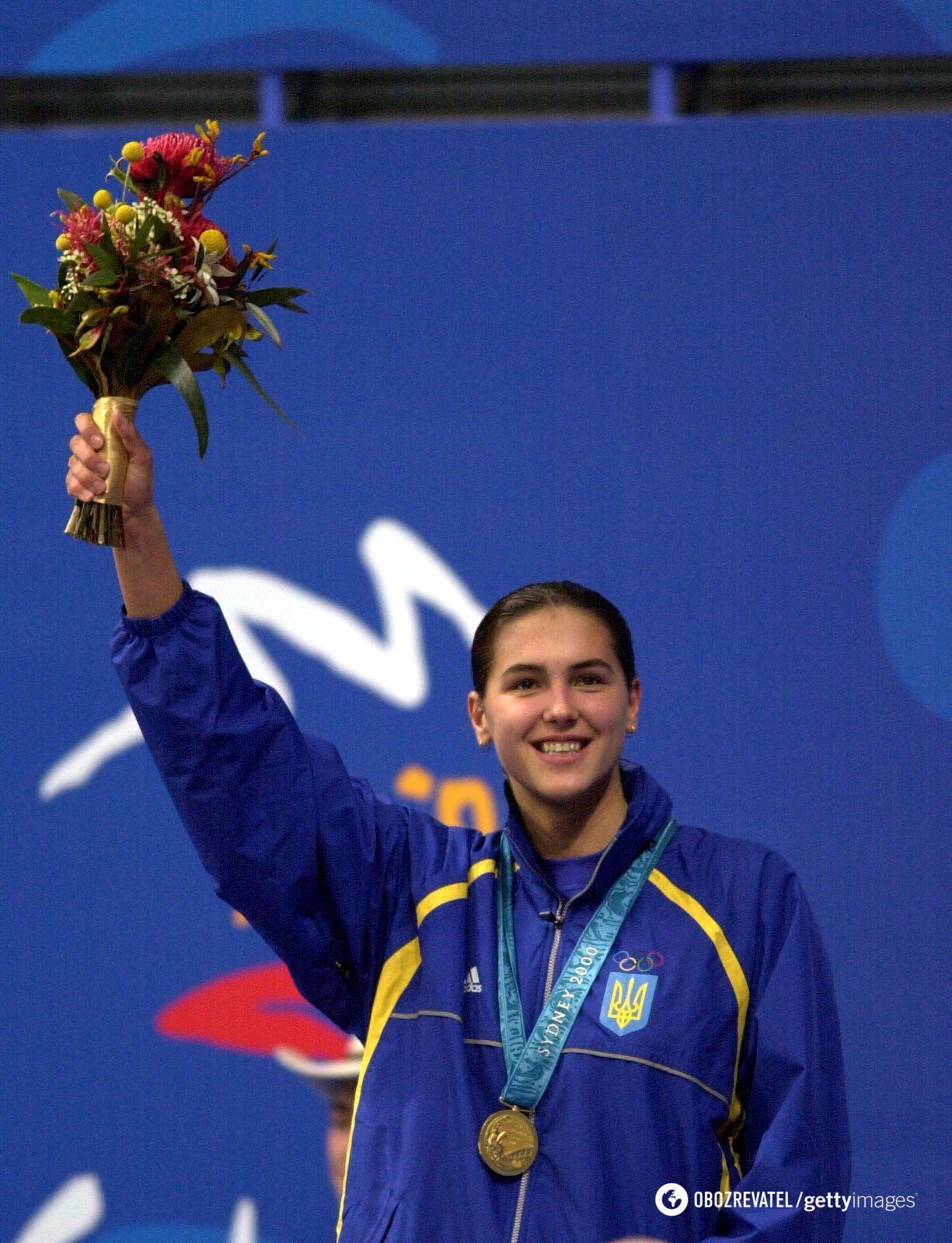 Клочкова на Олимпиаде (2000 год)