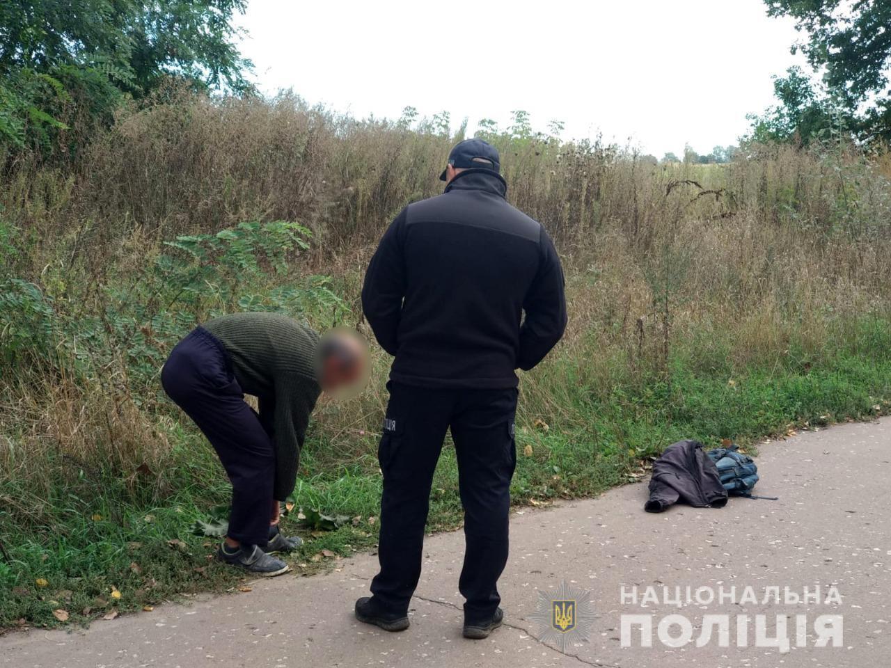 Чоловік привів поліцію на місце злочину