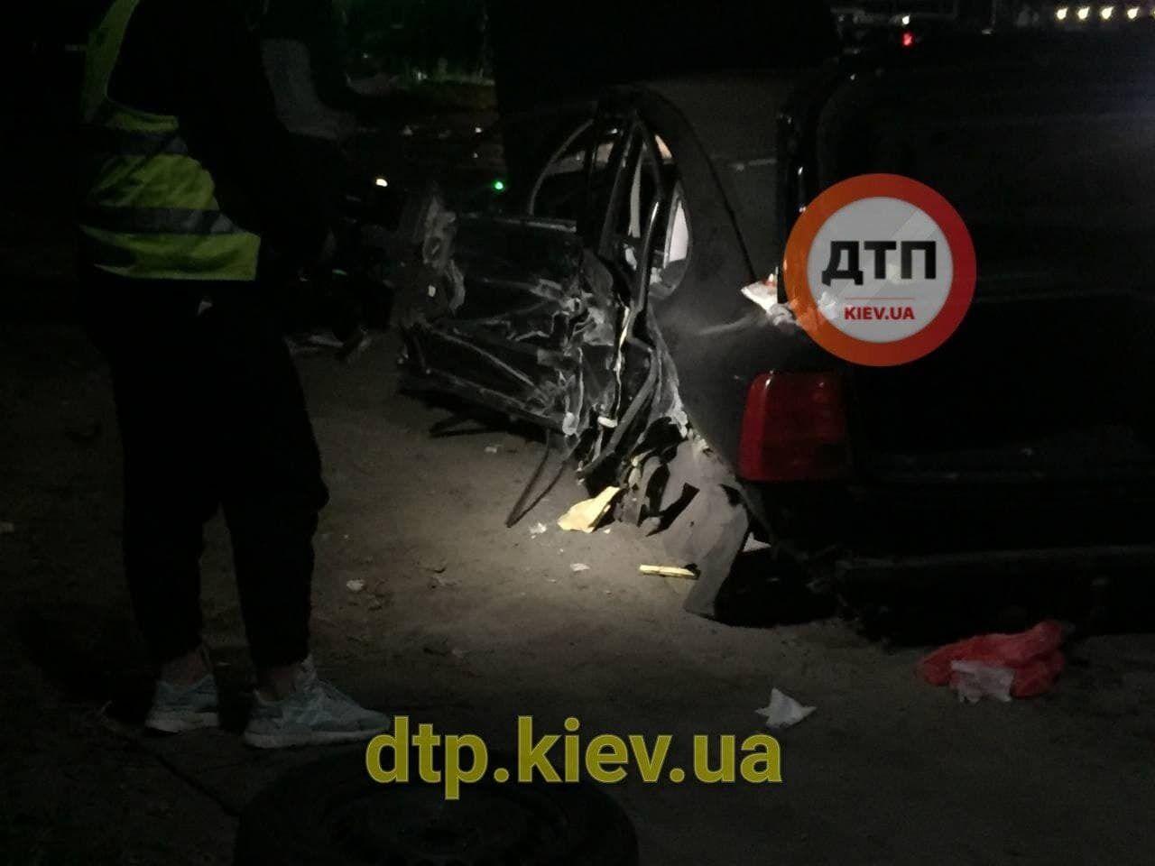 Аварія сталася під Києвом