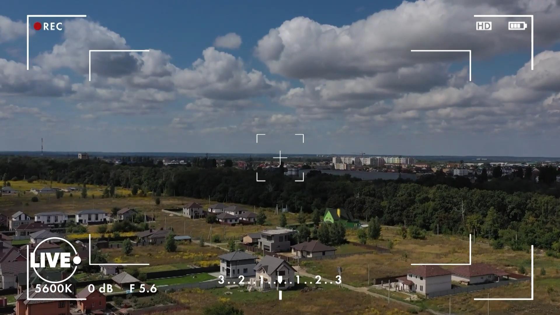 Село Крюковщина: съемка на квадрокоптер