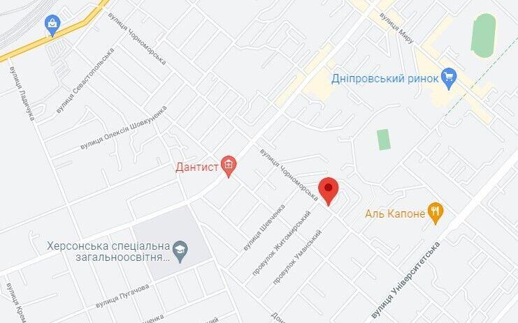 ЧП произошло в районе улицы Черноморской