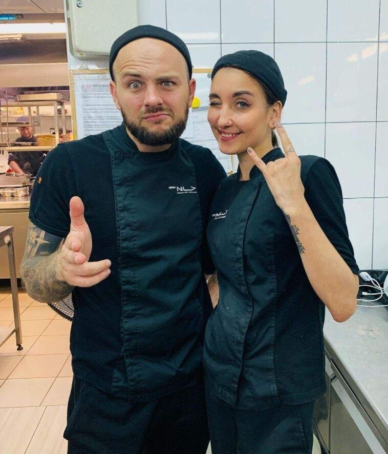 Стелла Клименко та її шеф Микола Люлько, з яким вона працювала останнім часом