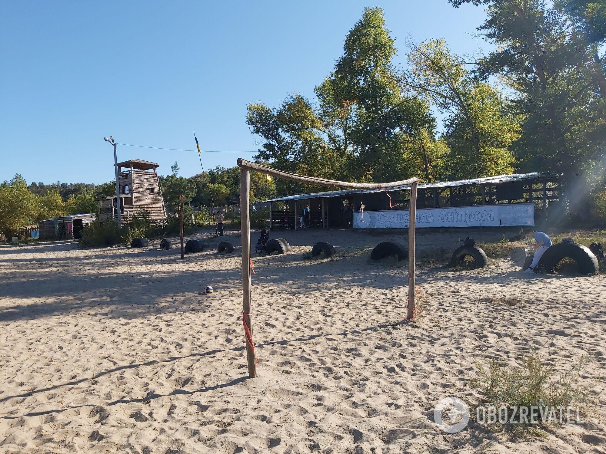 Дитячий табір ''Сонце над Дніпром'' на березі Дніпра у Каневі