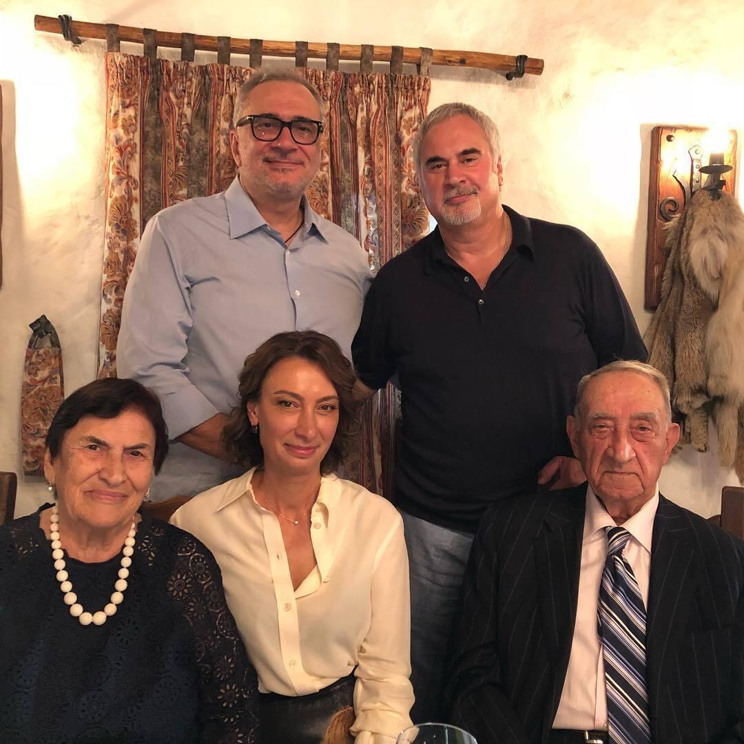 Семейство Меладзе.