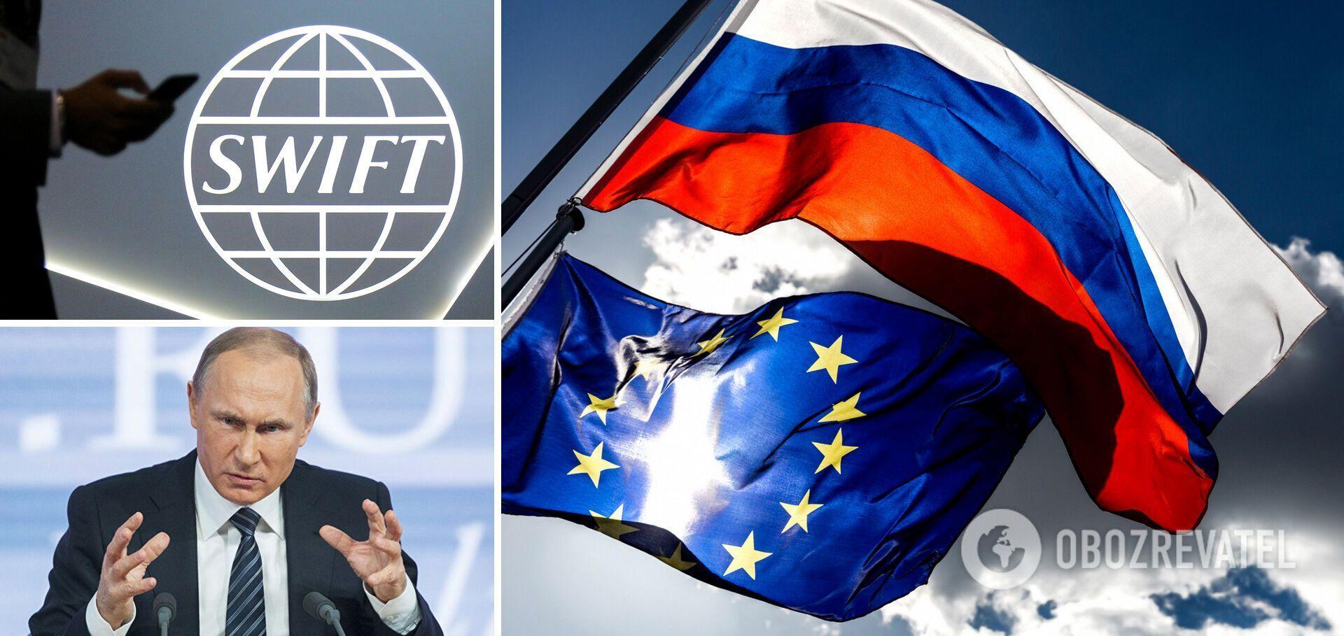 Від'єднання системи призведе до паралічу російської економіки