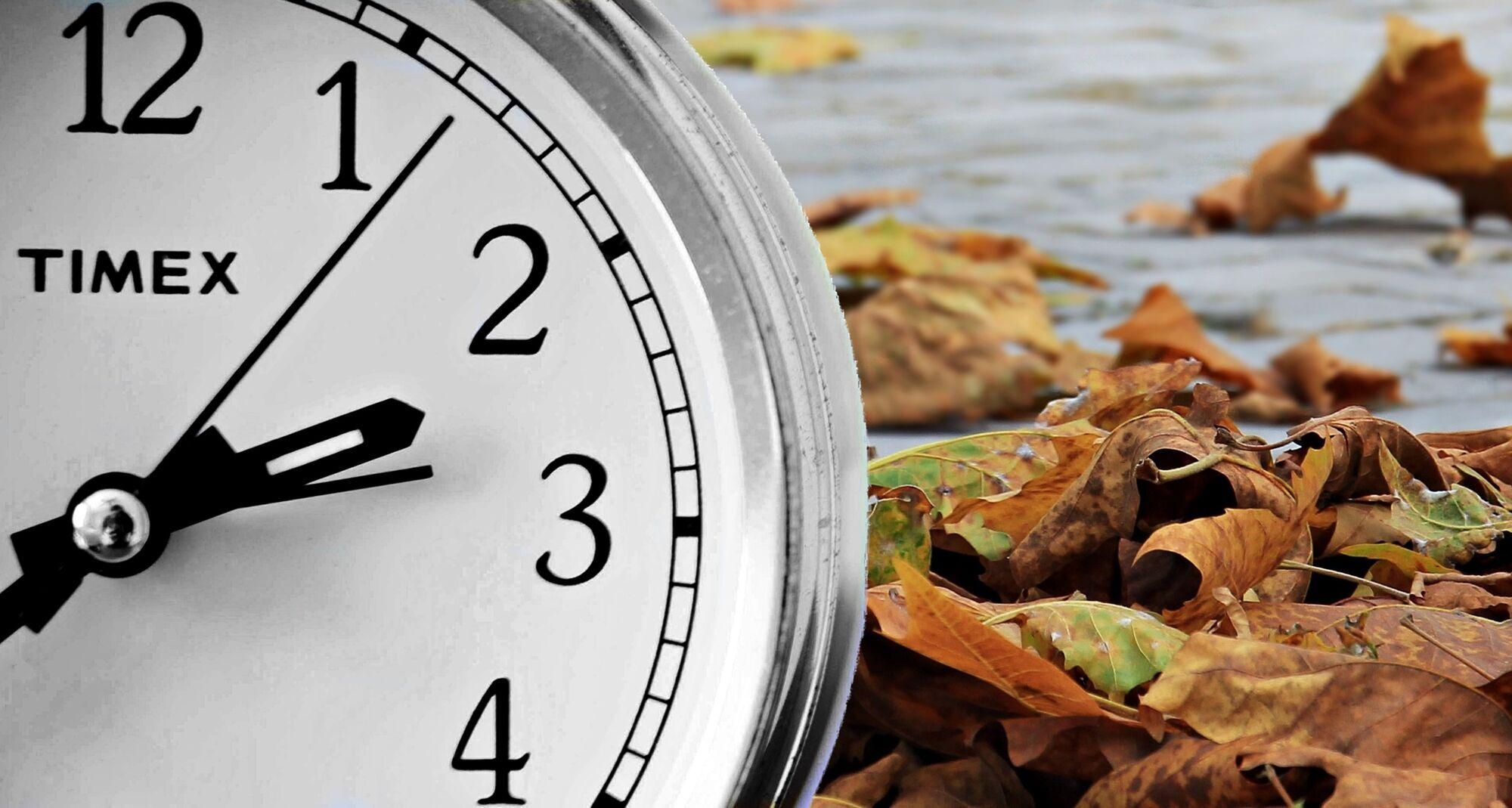 Переведення годинника на зимовий час 2021 року в Україні відбудеться в ніч із 30 на 31 жовтня