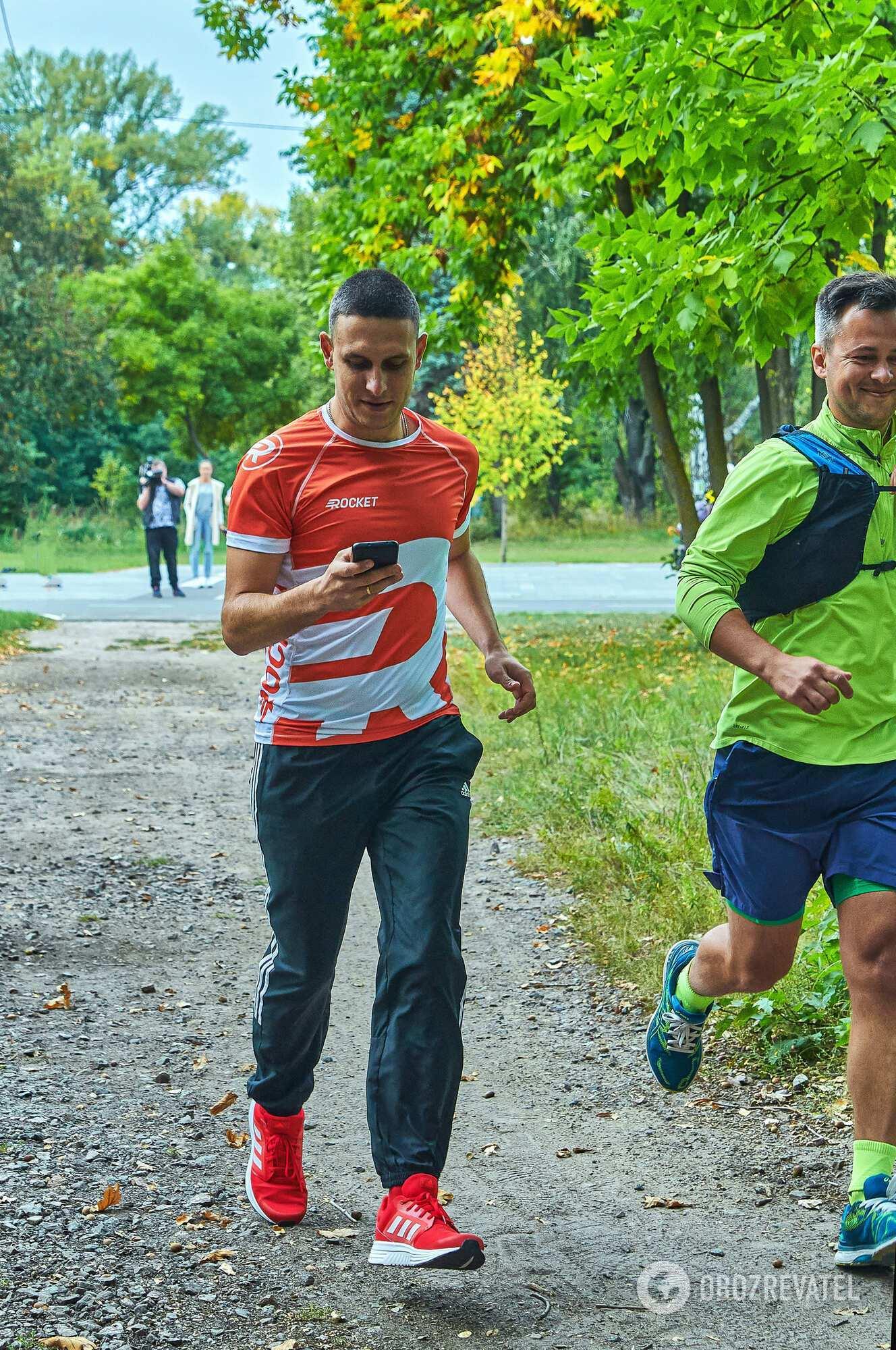 Киевлянин установил рекорд в столичном парке Муромец.