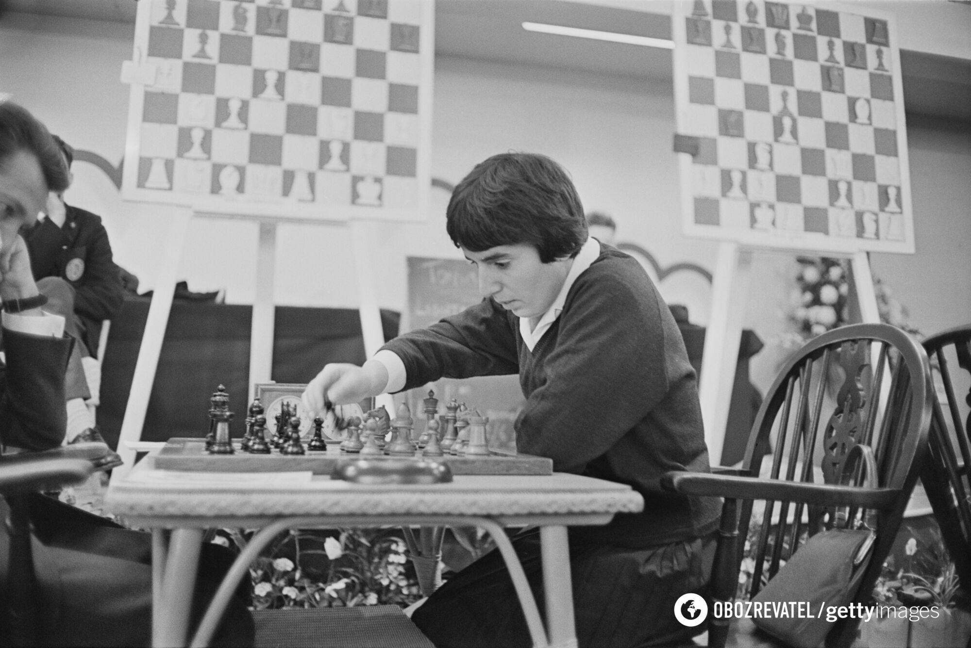 Нона Гаприндашвили на одном из турниров