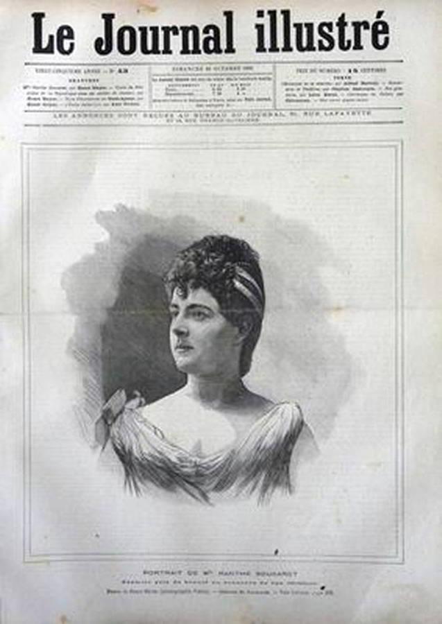 Сукаре на первой странице Le Journal Illustre