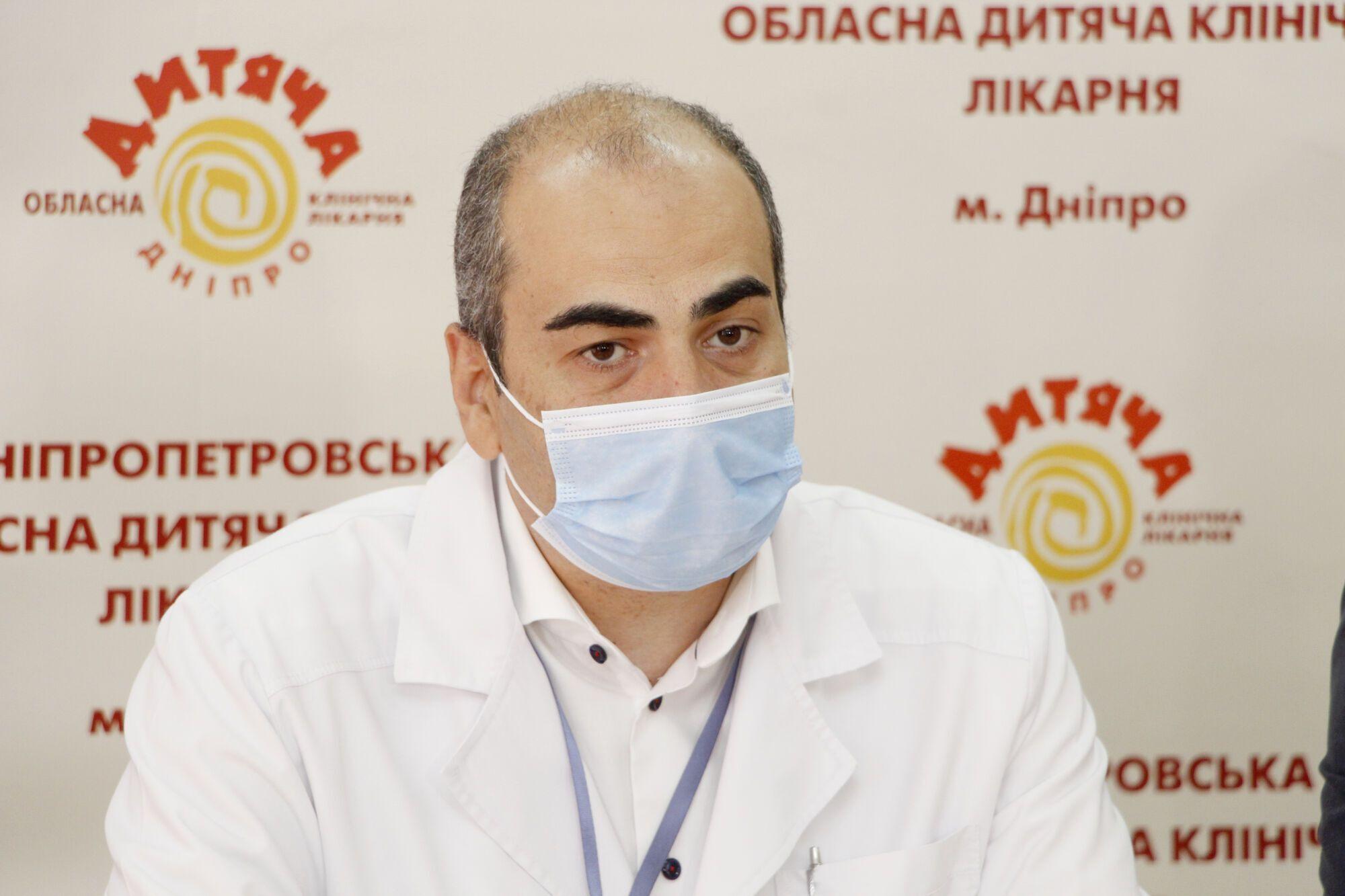 Генеральный директор областной детской клинической больницы Алексей Власов