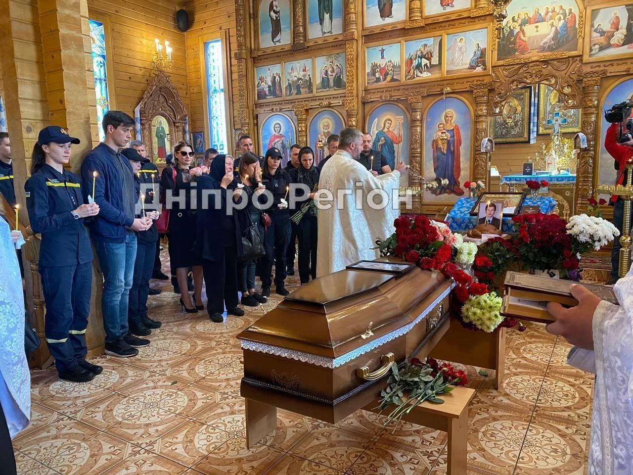 В Днепре состоялась церемония прощания с Гречищевой