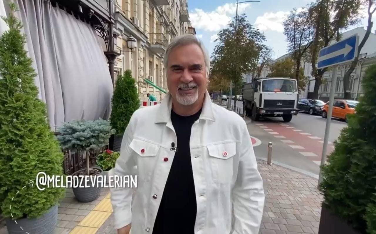 Валерий Меладзе дал интервью Славе Демину.