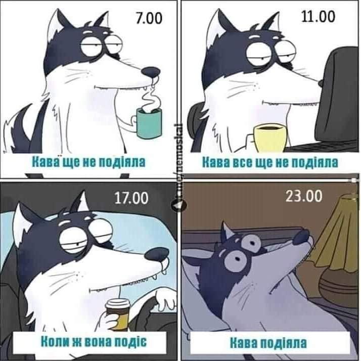 Мем про каву
