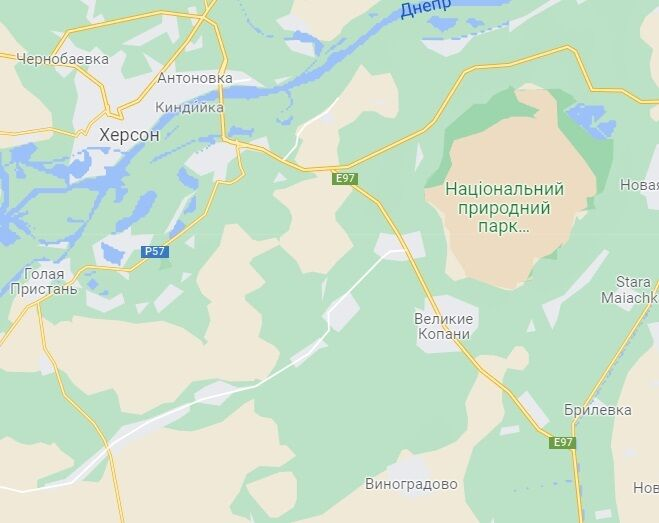 Олешковские пески.