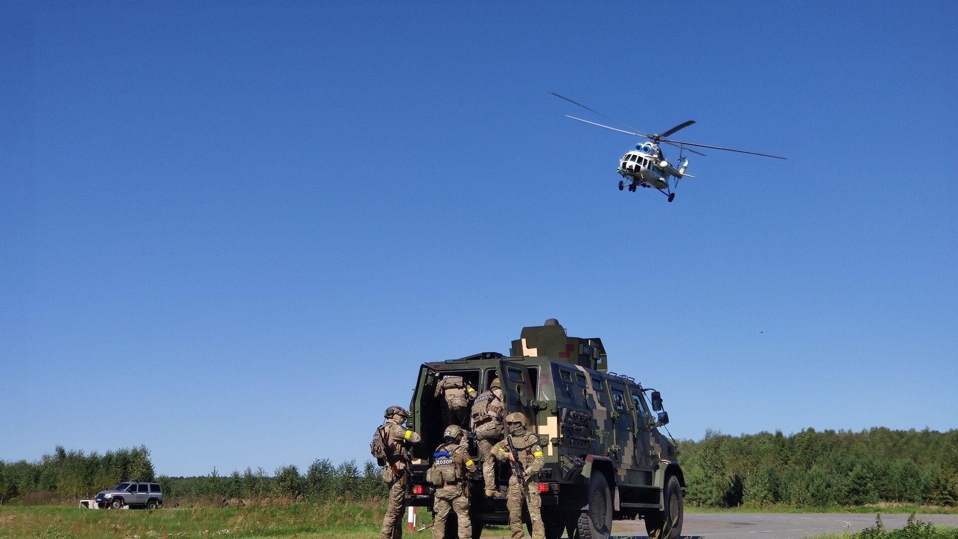 Задіяні були українські вертольоти