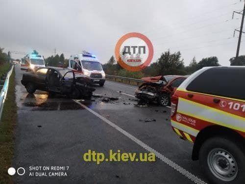 Аварія в Київській області