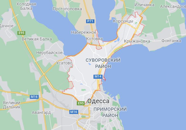 Авария произошла в Суворовском районе.