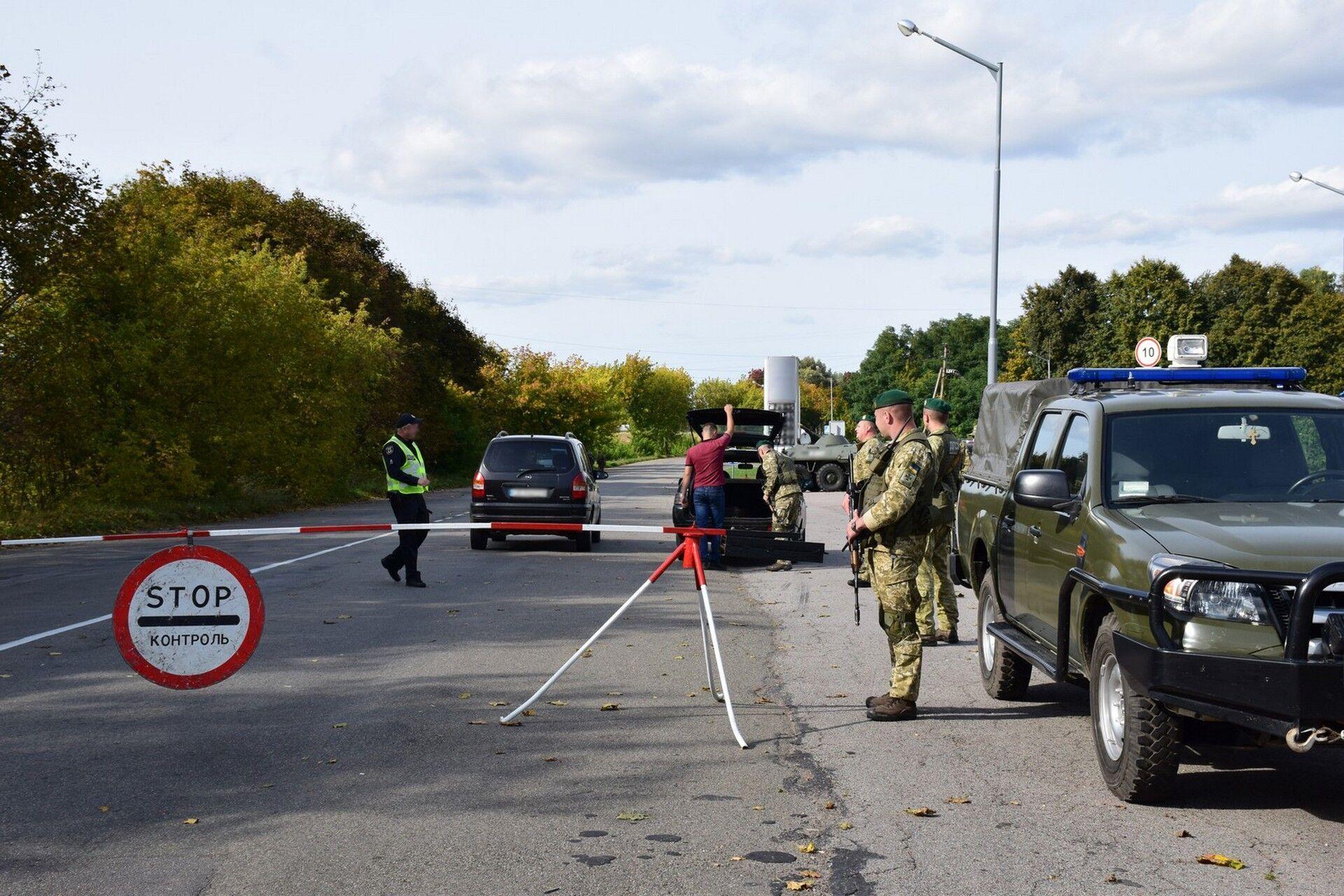 Навчання вирішили провести недалеко від кордону з РФ