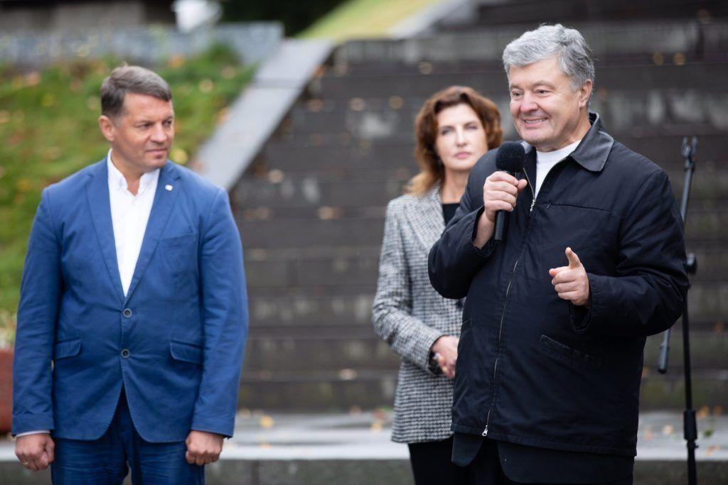 Порошенко представил в Каневе нового члена своей команды