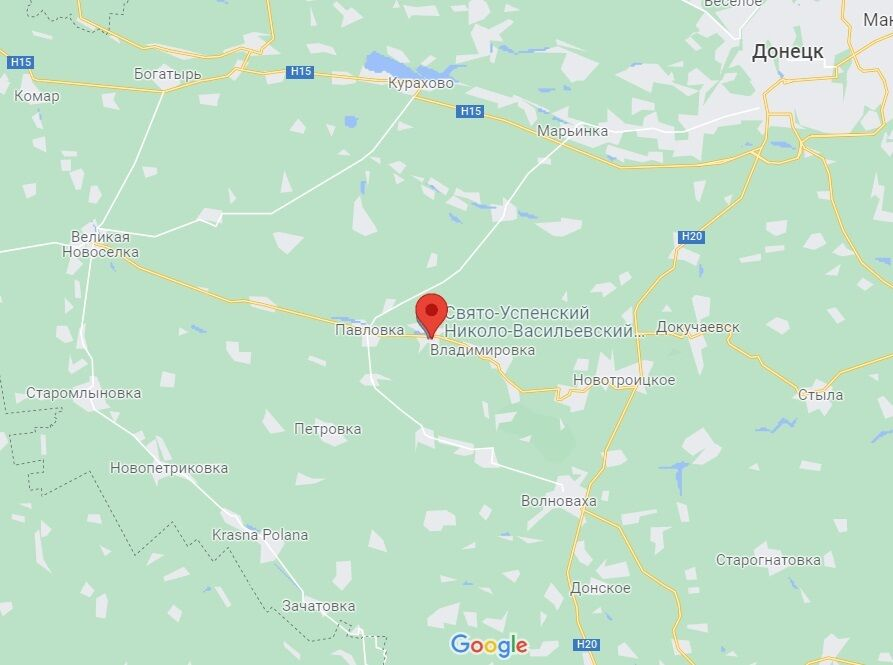 Село Микільське Донецької області.