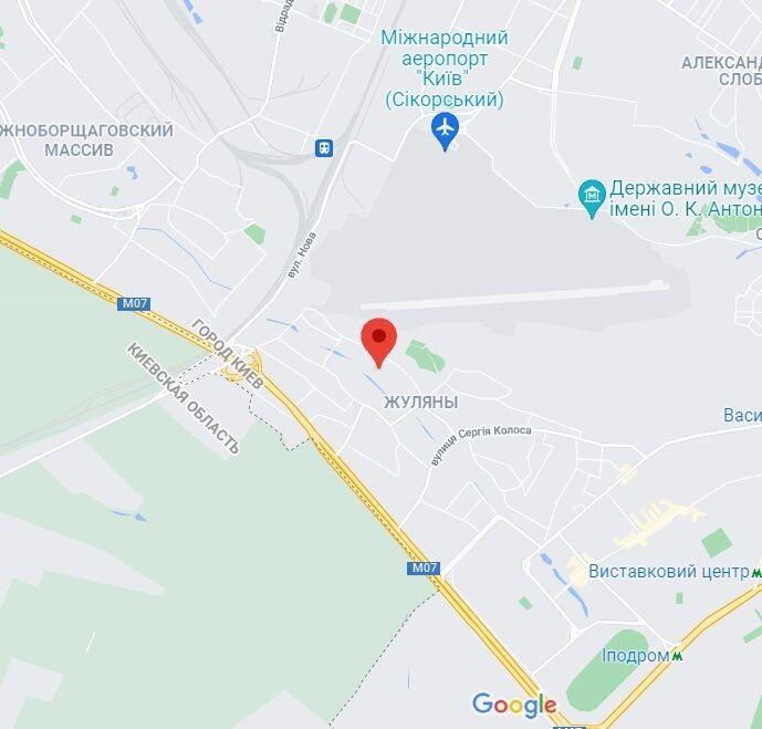 Вулиця Нова у Києві.