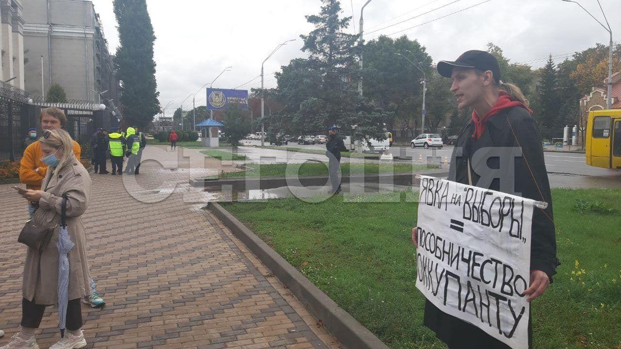 Беженец из РФ пристыдил тех, кто пришел на выборы.