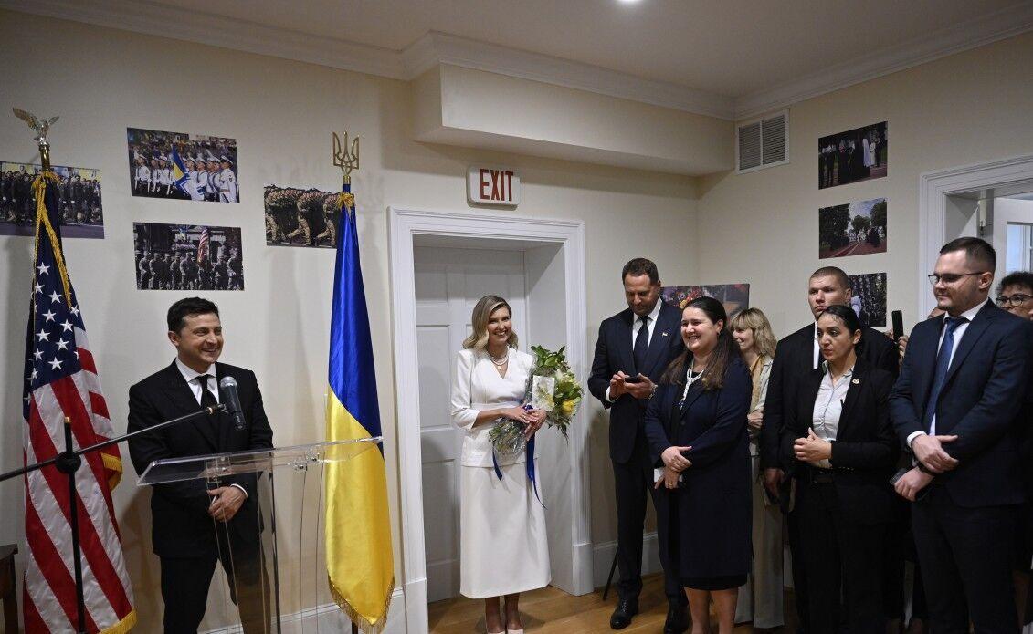 Зеленські відвідали Український дім.
