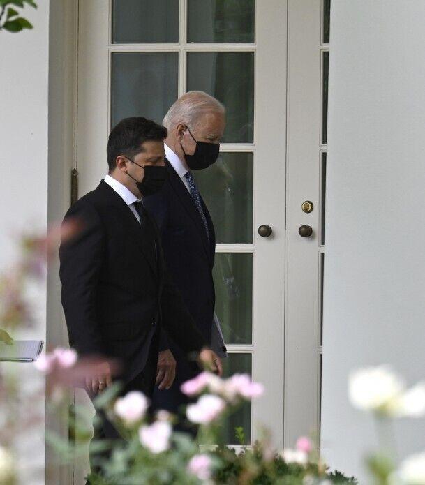 Президенти України і США
