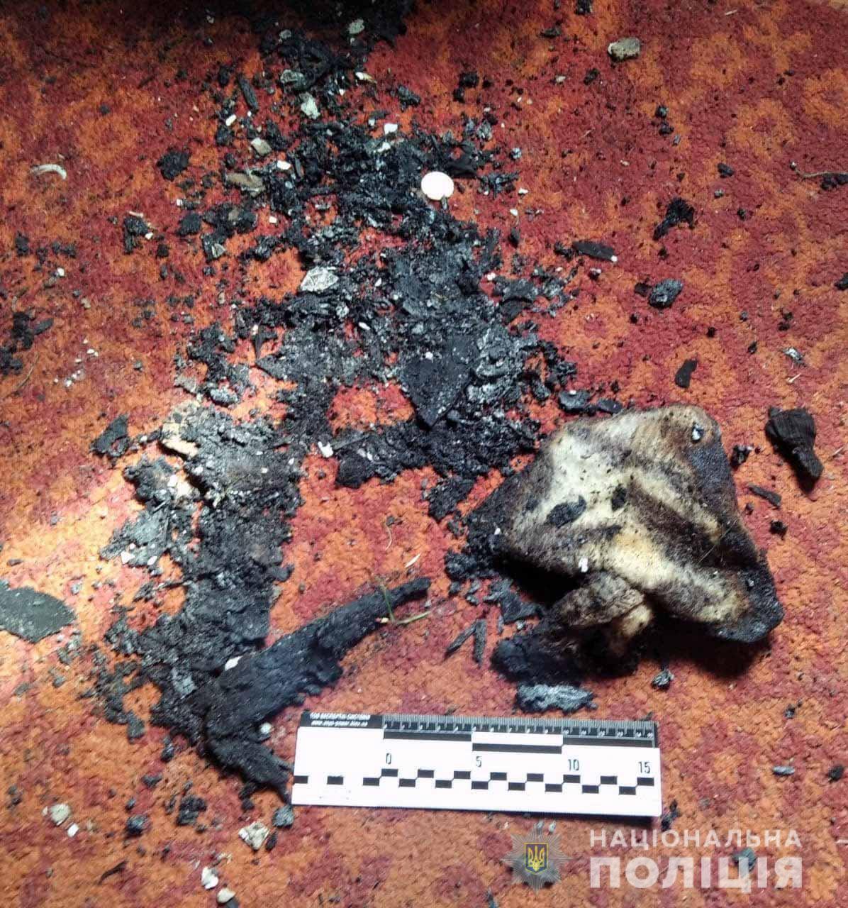 Последствия поджога в доме злоумышленника и потерпевшего