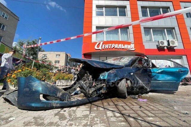 На місці аварії